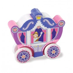 Decorate your own wooden Princess carriage