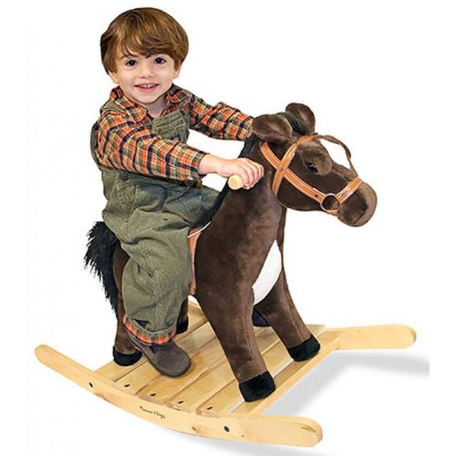 cheval bascule melissa doug enfants jouets jouer. Black Bedroom Furniture Sets. Home Design Ideas