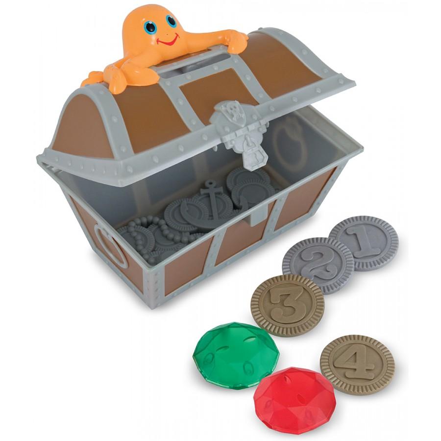Chasse aux tr sors sous l 39 eau coffre pi ces et bijoux jeu jeux piscine plonger fond pirate - Coffre chasse au tresor ...