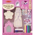 Decorate your own wooden Princess Set
