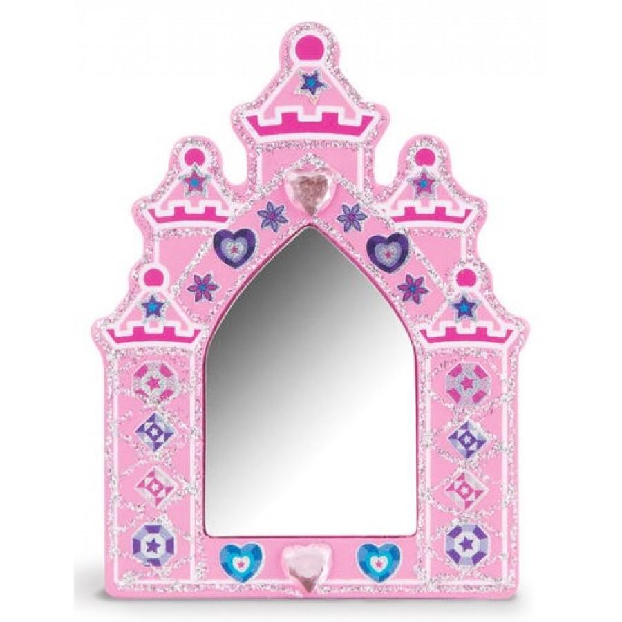 Ensemble peinturer princesse bois melissa doug for Miroir des princes
