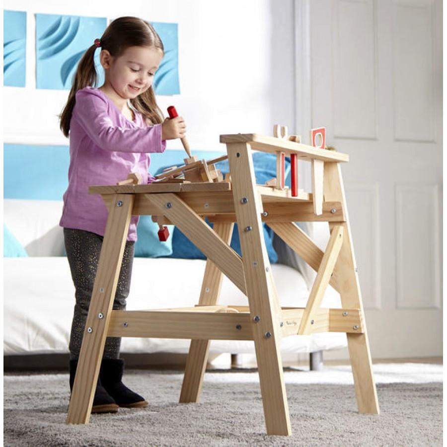 tabli en bois pour enfants jeux jouets outils. Black Bedroom Furniture Sets. Home Design Ideas