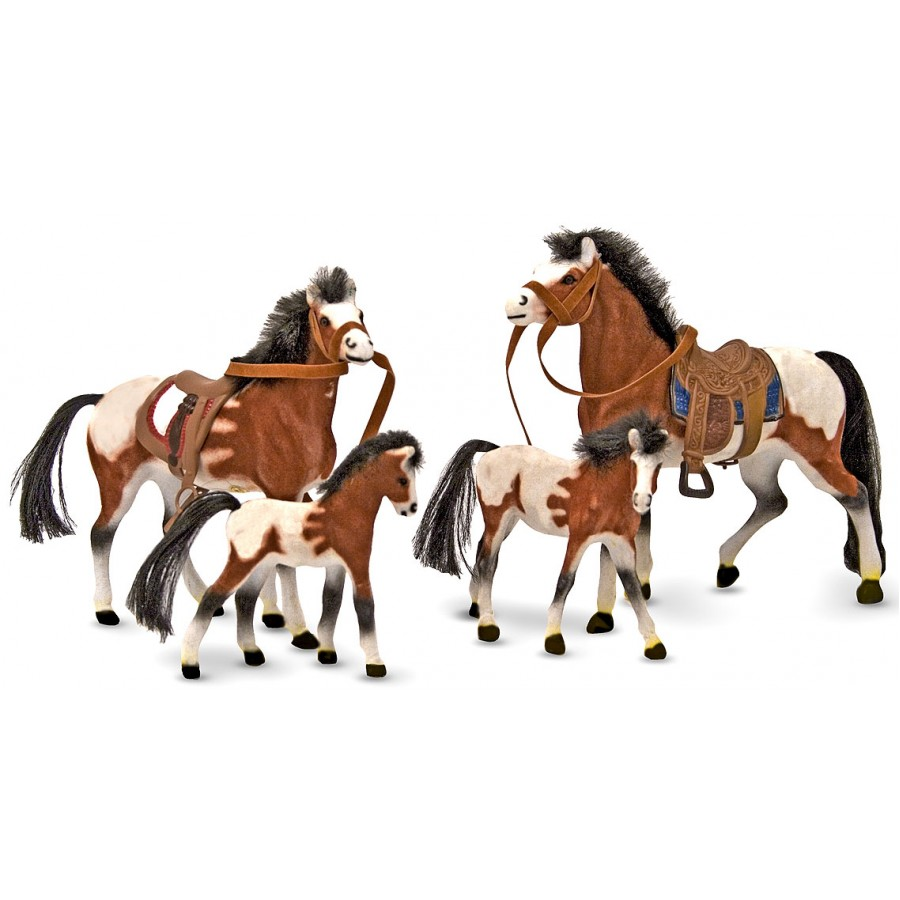 famille de chevaux cheval jouets enfants curie course table ferme melissa doug. Black Bedroom Furniture Sets. Home Design Ideas