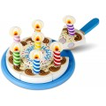 Birthday Party Cake - Wooden Play Food