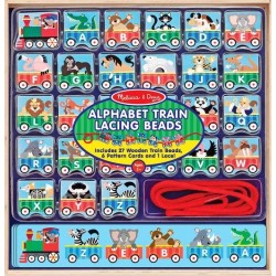 ABC Lacing Train