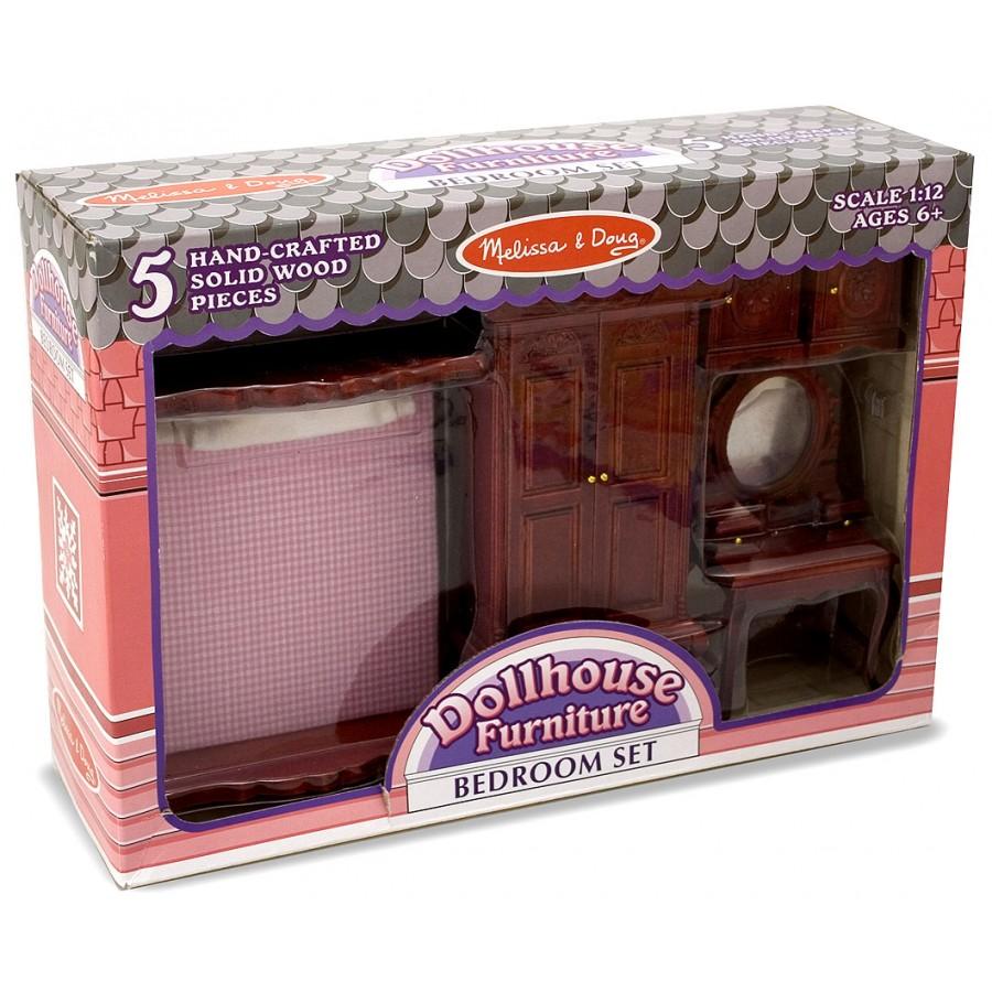 Meubles de chambre coucher melissa doug lit armoire for Ensemble de meuble chambre
