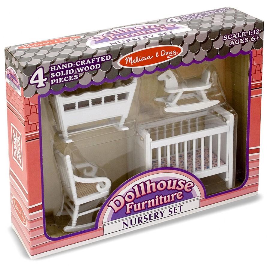Maison poupee meuble chambre bebe enfants victorienne 6 7 8 9 10 ...