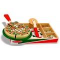 Pizza en bois à garnir et couper