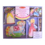 Princess & Pony Magnetic Dress-Up Set