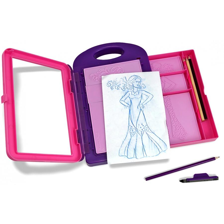 fashion design activity kit melissa doug