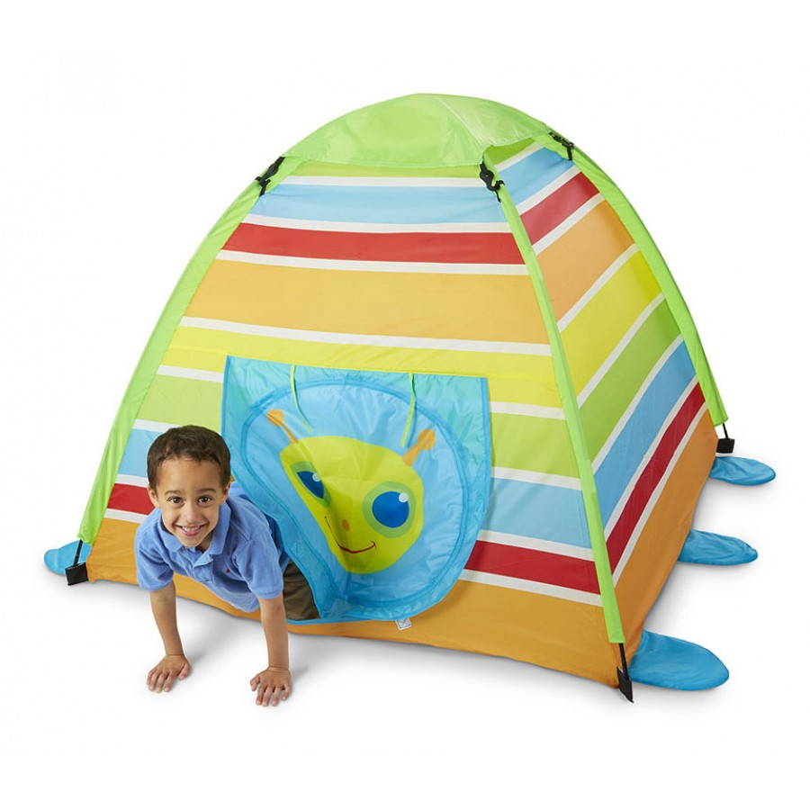 tente insecte chenille multicolore pour enfants int rieur coin lecture jeux repos maison. Black Bedroom Furniture Sets. Home Design Ideas