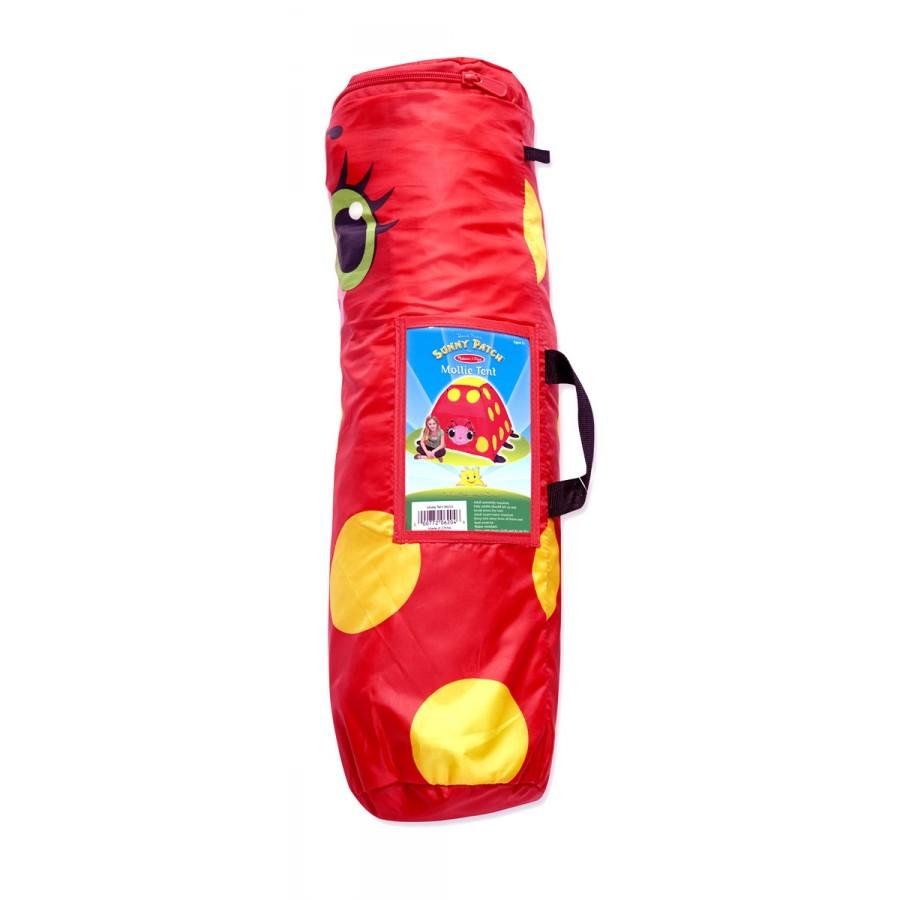 Tente coccinelle pour enfants melissa doug rouge for Tente enfant exterieur