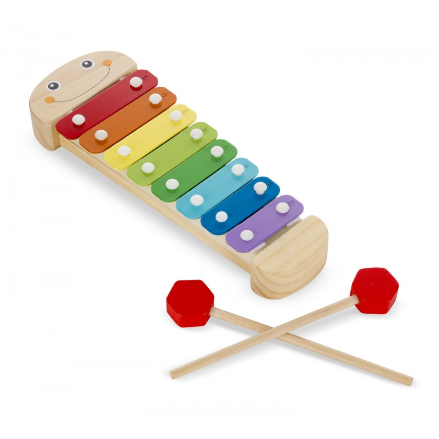 caterpillar xylophone melissa doug wooden toy. Black Bedroom Furniture Sets. Home Design Ideas