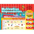 Family motivation and responsibility calendar (French)